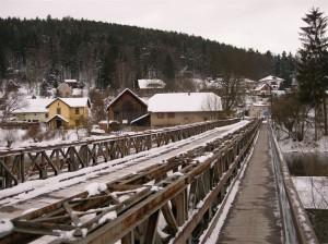 most přes Sázavu